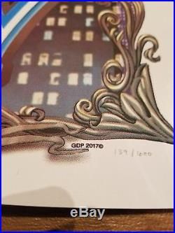 11/19 DEAD AND COMPANY Boston poster! LE TD Garden #139/600