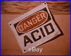 1965 Ken Kesey Acid Test Danger Handbill Flyer Concert Poster LSD Grateful Dead