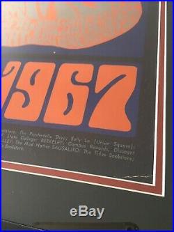 1966 Grateful Dead Jefferson Airplane Quicksilver New Year Bash Concert Poster
