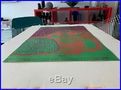 1966 Grateful Dead/The Doors Concert Poster Fillmore Auditorium