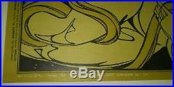 1967, Chuck Berry, Grateful Dead, Poster, Bill Graham 55, Fillmore, Original