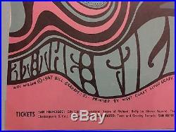1967 Fillmore Concert Poster Wes Wilson Bill Graham Grateful Dead L@@k