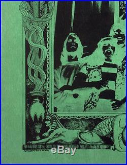1967 Grateful Dead Debut Album Handbill Flyer by Rick Griffin Fillmore Era