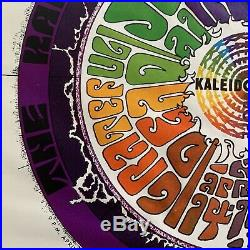 1967 Grateful Dead Printers Proof Poster Kaleidoscope Jefferson Airplane Photo