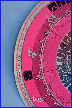 1967 Original Grateful Dead & Jefferson Airplane Kaleidoscope Concert Poster LA