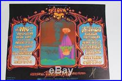 1968 Bill Graham Presents Bloom feat. The Who Grateful Dead Fillmore West