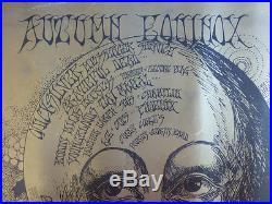 1968 Grateful Dead Hendrix Equinox Original Gig Poster Family Dog Bill Graham