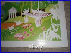 1973 Grateful Dead, Allman Brothers, the Band Poster Watkins Glen Summer Jam