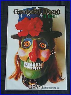 +++ 1974 GRATEFUL DEAD Germany Tour Poster by Kieser