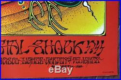 1976 Rick Griffin Grateful Dead Aoxomoxoa 2nd Print European Poster Ltd Ed #1541