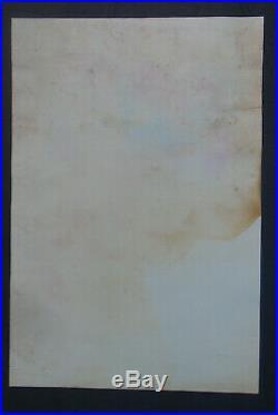 1977-original Concert Poster-grateful Dead @ Golden Hall-san Diego, Ca-gutierrez