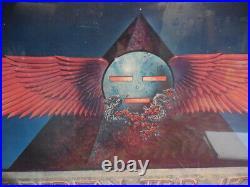 1978 Grateful Dead European Tour Egypt Poster Rare Framed