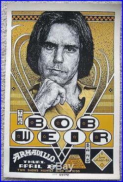 1978 Guy Juke Bob Weir Grateful Dead Armadillo World Headquarters Poster