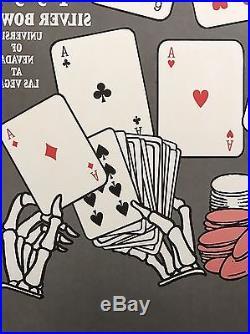 2 Grateful Dead Las Vegas NV 1991 Bouman BGP 2-sided translucent SIGNED posters
