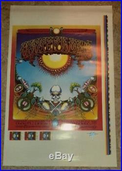 2001 ArtRock RICK GRIFFIN Grateful Dead Avalon Ballroom Poster Proof #373/375