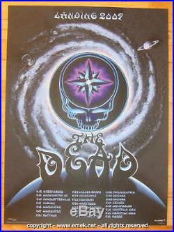 2009 The Dead Spring Tour Silkscreen Concert Poster S/N by EMEK grateful