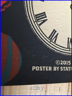 2015 Grateful Dead & Company New Year's LA Forum Los Angeles NYE Concert Poster