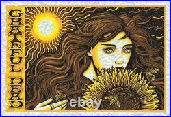 2020 GRATEFUL DEAD TODD SLATER Wind Chimes Foil Variant Poster Print #/150 29x20