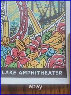 2021 Dead and Company Darien Lake Poster 18x24 #374 of 600