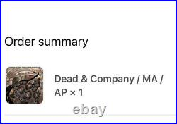 2021 Dead and Company Mansfield Poster Limited Edition AP /85 PREORDER SOLDOUT