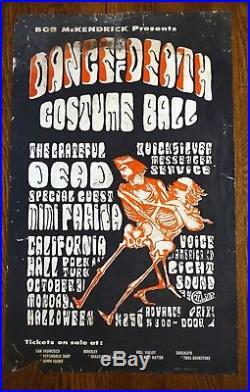 A. O. R. 2.143 Grateful Dead Dance of Death Costume Ball Halloween Acid Test