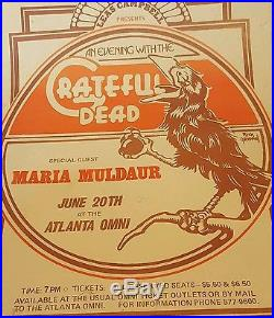 A night wth the Grateful Dead by Rick Griffin Poster @ the Omni in Atlanta