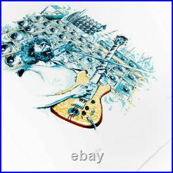 AJ MASTHAY STELLA BLUE Signed Letterpress Print #/500 Jerry Garcia Grateful Dead