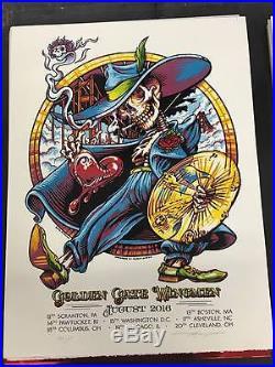 AJ Masthay 2016 Poster Dead And Company Dark Star Orchestra Primus Tea Leaf Gren