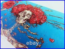 AJ Masthay Bertha Grateful Dead Art Print #/300 23k Show BNG Poster and Co Tour