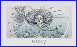 AJ Masthay Bertha Lavender Lady Variant Grateful Dead Print #/100 BNG Poster Co