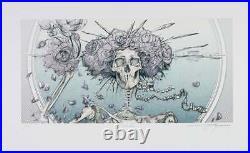 AJ Masthay Bertha Lavender Lady Variant Grateful Dead Print Poster Artist Proof