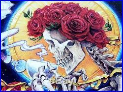 AJ Masthay Celestial Tea Grateful Dead Art Print Poster