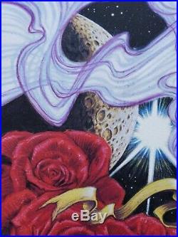 AJ Masthay Celestial Tea Grateful Dead Art Print Poster NYCC Pollock Phish Emek