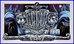 AJ Masthay Grateful Dead Furthur Chicago 2012 Original Artwork, Block & Poster