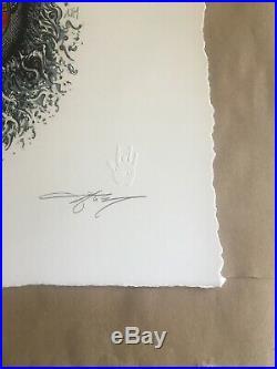 AJ Masthay Jerry Garcia Palm Sunday Artist Edition #70/80 Print Signed