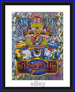 AJ Masthay Phil Lesh & Friends Capitol Theatre Lava Foil Poster S/N XX/76