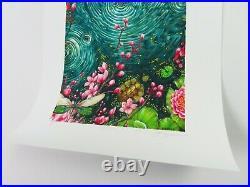 AJ Masthay Ripple Entrada Art Print Grateful Dead AP Hand Signed Titled Poster