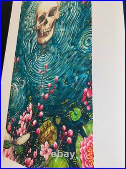 AJ Masthay Ripple Poster Print Official Signed AP Grateful Dead 2021 Giclee