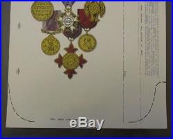 AOR 2.165 Grateful Dead Poster (Medals) Original