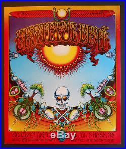 AOR-2.24 1st print original Grateful Dead poster FD, BG