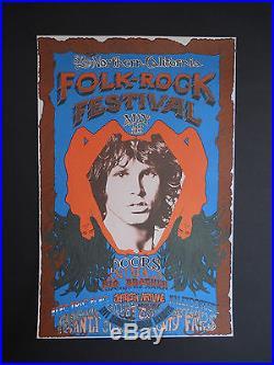 AOR-2.341 Thick stock Doors poster FD, BG, Grateful Dead