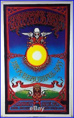 AOR 3.116-2 GRATEFUL DEAD Hawaiian Oxomoxoa Reprint Concert Poster RICK GRIFFIN