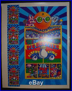 AOR-3.69 Moscoso signed uncut proof poster FD, BG, Grateful Dead