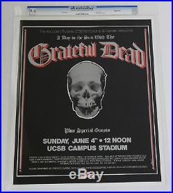AOR-4.113-OP-1 Poster CGC Grade 9.4 Grateful Dead