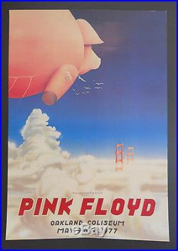 AOR-4.47 Randy Tuten signed poster BG, FD, Grateful Dead