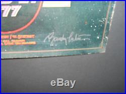 AOR-4.50 Tuten signed Led Zepplin poster FD, BG, Grateful Dead