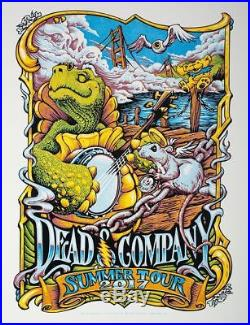 ARTIST PROOF Dead & Company AJ Masthay 2017 Summer Tour Poster Chicago