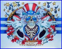 Aj Masthay Us Blues Metallic Foil Variant Grateful Dead Garcia In Hand Mint