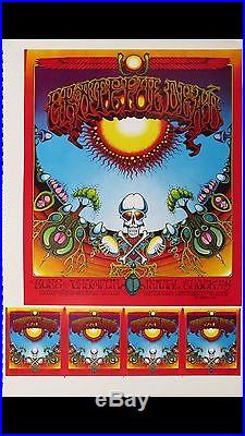 Aoxoamoxoa Grateful Dead And Sons Of Champlin Original Concert Poster Proofsheet
