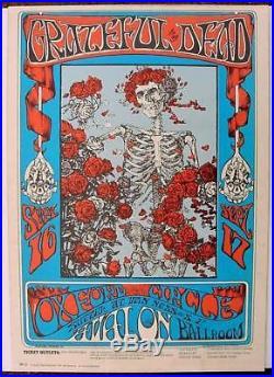 Avalon Ballroom Poster- Grateful Dead FD26-3